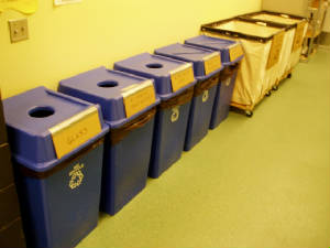 Recycling at Alaska Islands and Ocean Visitor Center